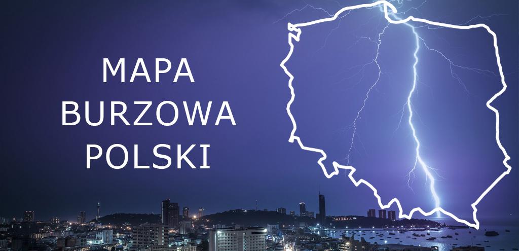 Mapa Burzowa Polski Wiedza Online